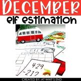 Elf Estimation {Holiday, Christmas Math Station} Math Station Printable
