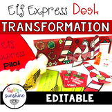 Elf Express: Christmas Desk Transformation