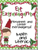 Christmas Activities (Math and Literacy Center Work)