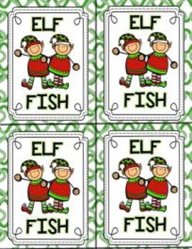 Elf-FISH: An elf-fish fun game to play and practice your Dolch Words, too!