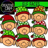 Elf Faces {Creative Clips Digital Clipart}