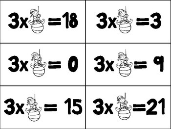 "Elf ""Factor""y-Find the Missing Factor Math Game"