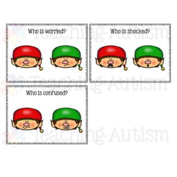Elf Feelings / Emotions Task Cards
