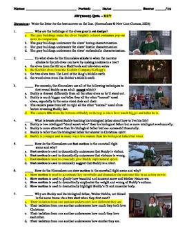 Elf Film (2003) 15-Question Multiple Choice Quiz