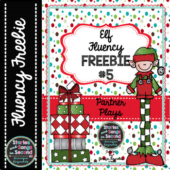 Elf Fluency FREEBIE #5--Holiday Partner Plays