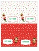 Elf Food & Kisses Candy Tags