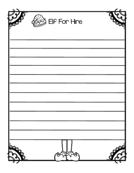 Elf For Hire Writing Freeby!!!