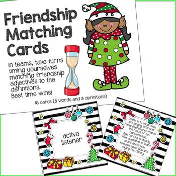 Elf Friendship Cards