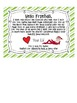Elf Fun Freebie! {Elf Note} {North Pole Bakery Label}