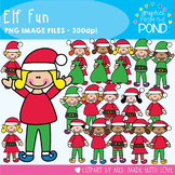 Elf Fun - Clipart - Graphics From the Pond