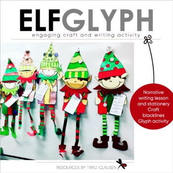 Elf Glyph and Narrative Writing Lesson