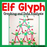 Elf Antics! Glyph, Graphs, Data Analysis, Math Task Cards and Narrative Writing