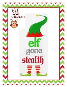 Elf Gone Stealth! Freebie Activity K-3