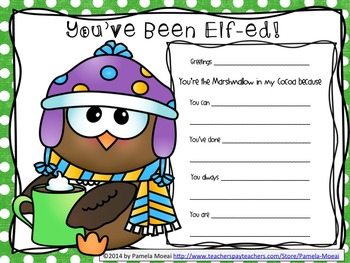 Christmas Elf Grams!   Have You Been Elf-ed, Yet?