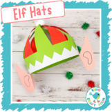 Elf Hats (x4 Multicultural Skin Colours)