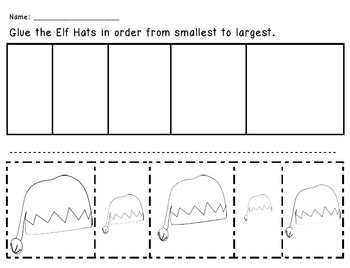Elf Hats - From Smallest to Largest