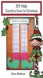 Elf Activities Countdown to Christmas Craft Elf Help