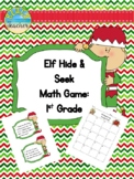 Elf Hide & Seek Math: 1st Grade