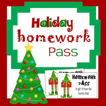 Elf - Homework Pass