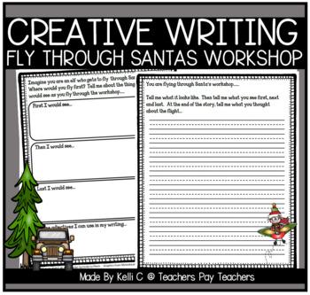 December Narrative Writing- Flying through Santa's Workshop
