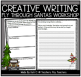 December Narrative Writing- Flying through Santa's Workshop