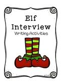 Elf Interview- Writing Activities