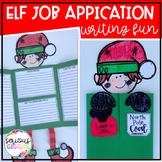 Elf Job Application - Christmas Writing Craftivity