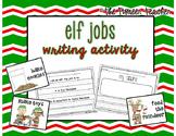 Elf Jobs - Christmas Writing Activity