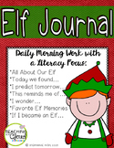 Elf Journal with Literacy Prompts