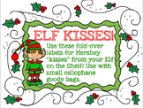 "Elf ""Kisses"" Goody Bag Label from the Elf in our Classroom!"