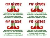 Elf Kisses Tags