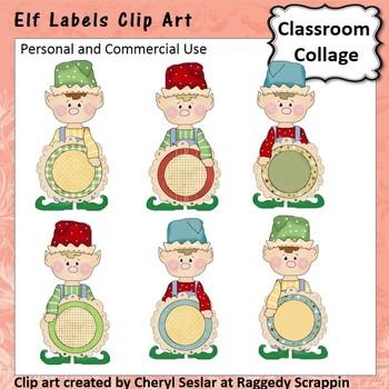 Elf Labels personal & commercial use C Seslar