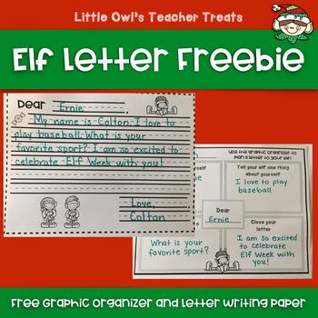 Elf Letter Freebie