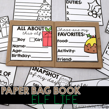 Elf Life Paper Bag Book