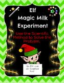 Elf Magic Milk Science Fun!