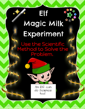 Elf Magic Milk Science Fun!