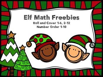 Elf Math Freebies