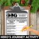 Elf: Movie Activities - Christmas Writing Activity - Hero's Journey Project