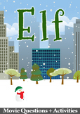 Elf Movie Guide + Activities - (Color + B/W)