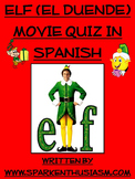 Elf Movie Questions in Spanish / El Duende