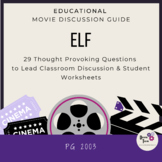 Elf- Christmas Movie Discussion Guide- Perfect Christmas Comprehension Activity!