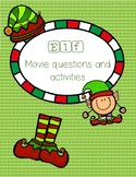 Elf Movie questions, activities, etc.