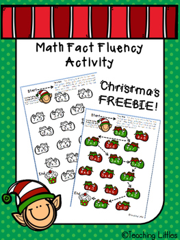 Elf Multiplication Fluency Activity