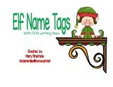 Elf Name Tags
