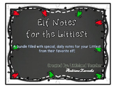 Elf Notes for the Littlest