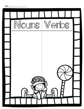 Elf Noun and Verb Sort