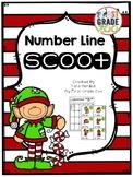 Elf Number Line Scoot