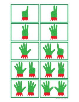 Elf Math Activities | Elf Number Mats 1-20 | Christmas Math Activities