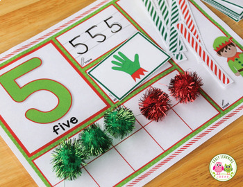 Elf Math Activities | Elf Number Mats 1-20 | Christmas Math Activities