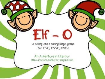 Elf-O: A vowel bingo game